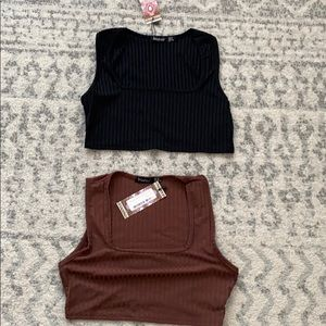 Crop tops new with tags.